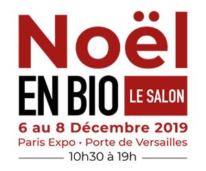 Logo salon Noël en Bio 2019